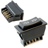 New Universal Black 5 Pins DC 12V 20A ON/OFF SPST Momentary Electric Power Window Switch for Car Auto