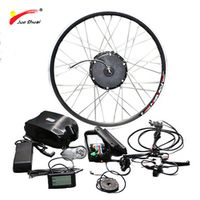 Jueshuai Front Motor Wheel 36V 350W Ebike with Frog Battery Full Waterproof Cable
