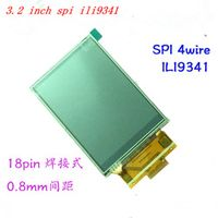 yunrichlcd 1pcs 3.2 inch 18P SPI TFT LCD Screen with Touch