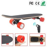 TG Classic Cruiser Style Electric Skateboard Complete Deck 7 Layers Maple Fishboard