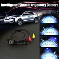 thehotcakes CCD COMS Intelligent Dynamic trajectory Sport License Plate Camera