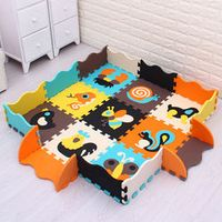 MEI QI COOL Numbers/animal qi baby EVA foam play mat/puzzle