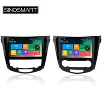 SINOSMART Support 4G RAM 2G/1G Android 5.1 Car Radio Navigation GPS Player for Nissan X-trail/Qashqai 2013-2016 with Canbus
