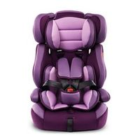 changbvss Portable Thick Car Seat For Kid 5 Point Harness