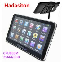 Hadasiton 5 inch touch screen Car GPS Navigation Sat Nav CPU800M 256M/8GB FM