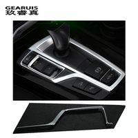 GEARUIS Car Gear Shift Box Sequins Cover Trim interior Stall decorative strip sticker