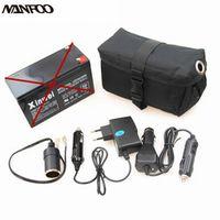 Handheld Hunting Spotlight Battery Pack Kit Weapon Lights Lead Acid