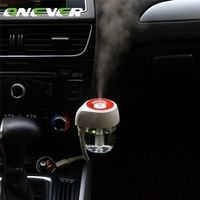 Onever 85ml Mist Diffuser Ultrasonic USB Car Humidifier Air Refresher 7 Color LED