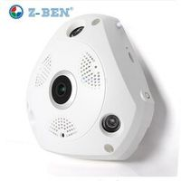 5pcs/Lot 360 Degree Panoramic IP Camera Fisheye WIFI CCTV Cam Video P2P 960P  Audio For Home Ofiice Security Remotely Monitori