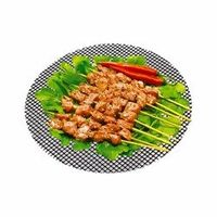 PREUP Non-stick Round Grid Grill Mat Reusable Cooking