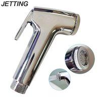 JETTING 1PCS Handheld faucet Toilet Hand Held Spray Shower Head Douche Shatta Chrome