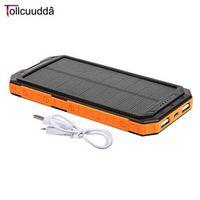 10000mAh Tollcuudda LHSJ01 Ultra Light External Battery Power Bank Portable Double