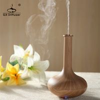 GX Diffuser light wood 160ml Ultrasonic mist maker Air Humidifier Essential Oil diffuser Aroma Diffuser Aromatherapy Household