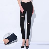 Bentain 2018 Woman Slim High Waist Elastic Casual Skinny