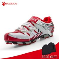 Boodun Professional Athletic Bicycle Shoes Cycling Shoes Men Self-Locking Bike Shoes