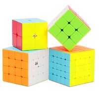 QIYI 2x2x2 3x3x3 4x4x4 5x5x5 Magic Cubes Children Speed