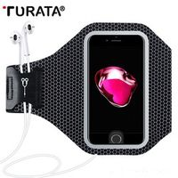TURATA Sport Arm Band Case For iPhone 7 6 6S Plus Outdoor Universal For iPhone 7