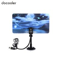 docooler w16PH08 Indoor Digital Antenna 35dBi High Gain Full HD 1080p VHF UHF