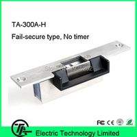150L*37W*34H(mm) electric strike lock NO type lock power to open electric strike lock for door access control system TA-300A-H