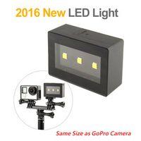 SOONSUN Most Portable External LED Flash Light for GoPro Hero 6 5 4 3 for Go Pro