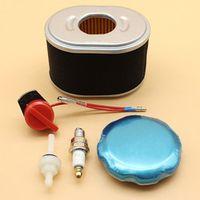 Haishine Air Filter Fuel Tank Cap Joint Switch Tune Up Kit For HONDA GX160 GX200 GX
