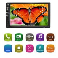 TekBow 7 inch HD Touch Screen Bluetooth In Dash DVD 12V 2 Din Car Stereo Radio FM