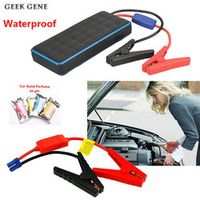 GKFLY Waterproof 1000A 12V Car Jump Starter Petrol 8.0L Diesel 6.0L Car Battery