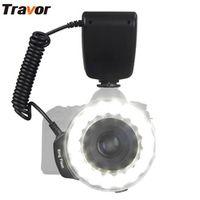 TRAVOR Macro 18pcs LED Ring Flash Light RF-600E For SONY Minolta Camera