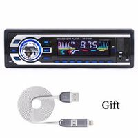 Car radio Bluetooth Panel with a gift 1-Din Stereo FM USB/SD AUX Audio MP3 Player in Dash Transmitter