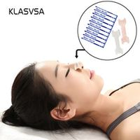 KLASVSA 100 pcs/pack Nasal Strips Small/Medium Better Breathe Anti Snoring Reduce Aid