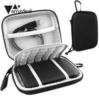 amzdeal 2.5 Inch USB 3.0 External Hard Drive Shockproof Pouch Bag Carry Case Box