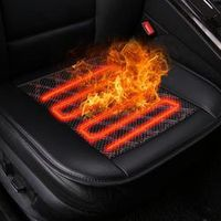 Younar 12V 24W Car Seat Cushion Cover Heater Warmer Winter Household Cardriver Heated