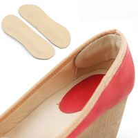 2pair/lot PU Leather Insoles Inserts Heel Liner Cushion