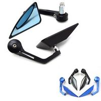 "7/8"" 22mm Universal Motorcycle  Rear View Side Mirror Handle Bar End For yamaha mt-07 MT07  MT-09 mt09 MT 07 09 tmax 530 500"