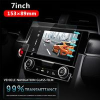 Vehemo Tempered Glass 7 inchs 153x89mm For Car GPS MP4 Player Transparent