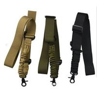 Balight Multi-function Nylon Adjustable Tactical single point Bungee Rifle Airsoft