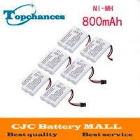 ELE ELEOPTION 6x Home Cordless Phone Battery for Uniden BT-1005 BT-446 DCX650 BP-446