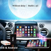 zemismart 5G WiFi Display Smart Phone Car Audio Via Airplay Mirroring Miracast HDMI