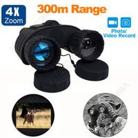 Bestguarder WG-80 300M GPS HD 720P Infrared Night Vision IR Binoculars Telescope 4X50