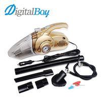 Digitalboy 12V 120W Car Vacuum Cleaner 4 in 1 Multi-function Wet Dry Tire Inflator