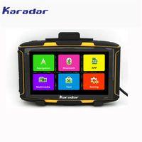 Karadar 5 inch Android Motorcycle GPS Navigation Waterproof moto/motos DDR1GB MT-5001