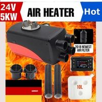Autoleader 5KW 24V Air Diesels Heater Parking Heater Riscaldatore 4 Holes LCD Switch