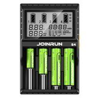 Joinrun S4 LCD Screen Intelligent li-ion 18650 14500 16340 26650 AAA AA DC 12V Smart