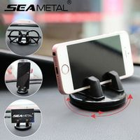 SEAMETAL Car Mobile Phone Auto Glasses Holders 360 Degrees Rotation For iPhone