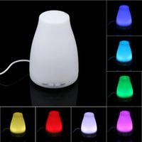willtoo 1PC 100ml Aroma Essential Oil Mist Humidifier 7 Color LED Lights Changing