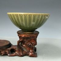 edmoogrel Rare SongDynasty porcelain bowl Yue Kiln Lotus
