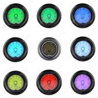 VSRacing RPM Tachometer 52mm 7 Color Racing Gauge LCD Digital Display Car Meter 2.0