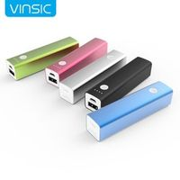Vinsic Tulip P1 3200mAh Power Bank External Mobile Battery Charger for Cell Phones