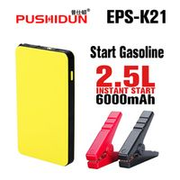 PUSHIDUN power bank Car Jump Starter Mini Portable Emergency Battery Charger for