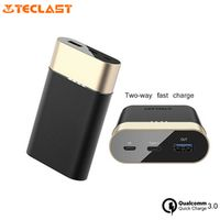 Teclast 10000 mAh Pover Bank Small Size Two-way Fast Charge Dual-input Powerbank